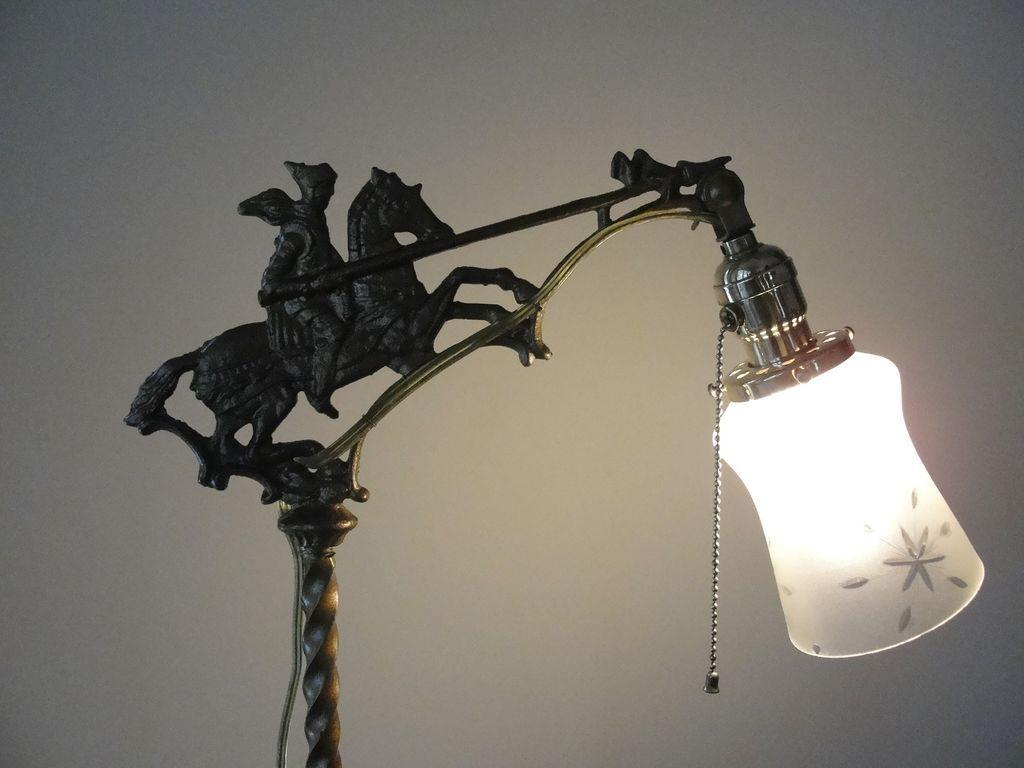 Antique Cast Iron Floor Lamp - Best 2000+ Antique decor ideas