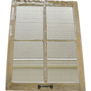 Architectural Salvage Barn Window Mirror