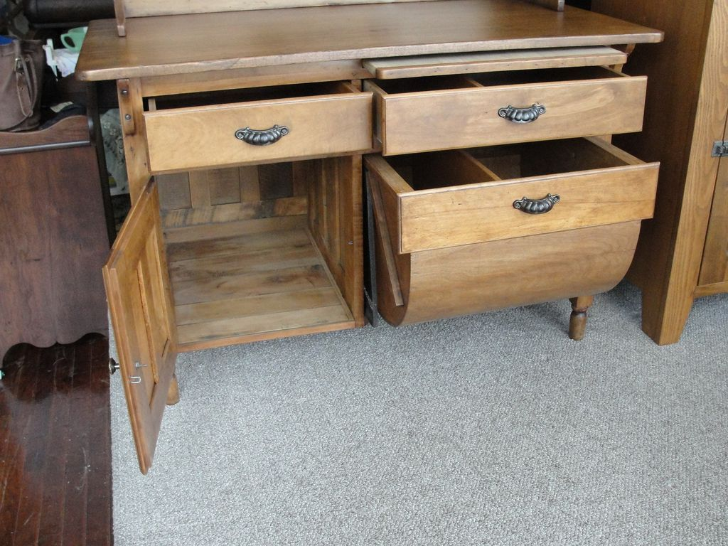 Antique Primitive Possum Belly Kitchen Cabinet SOLD on Ruby Lane