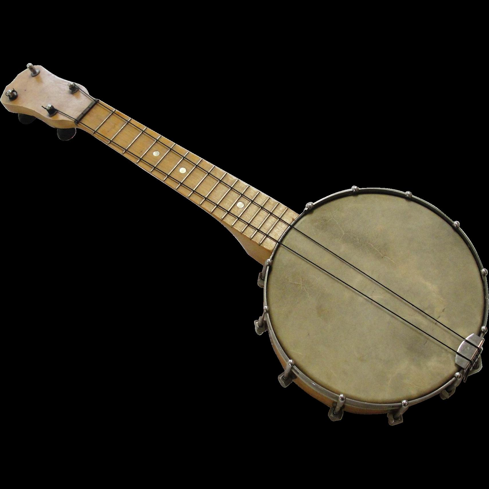 Vintage Concertone Banjo Ukulele Banjolele Musical Instrument