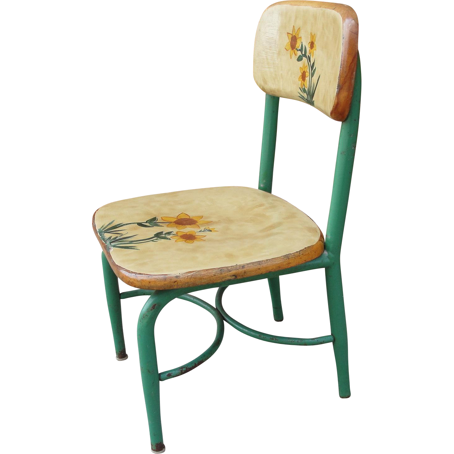 Heywood Wakefield Mid Century Child's Chair