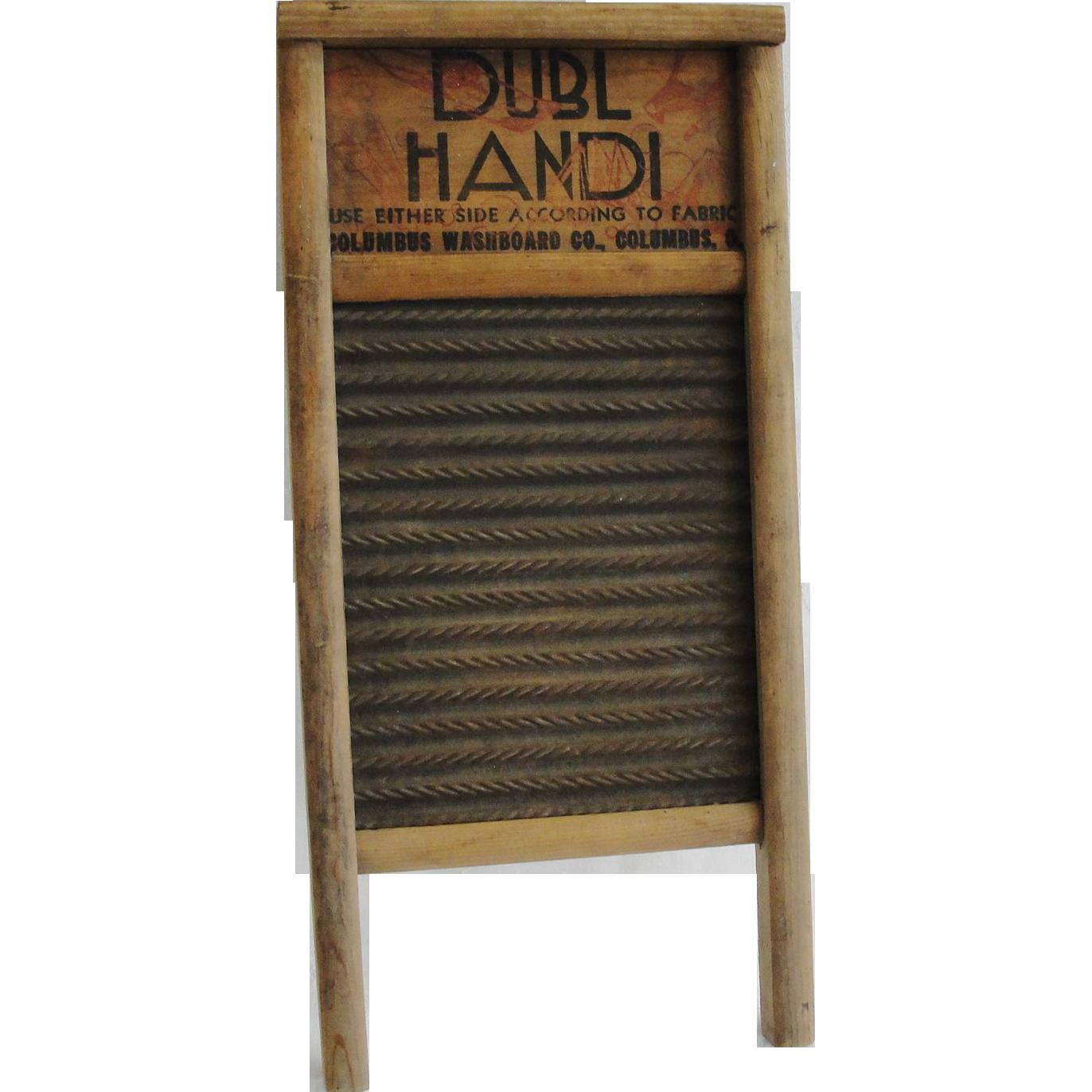 Vintage Wash Board 16