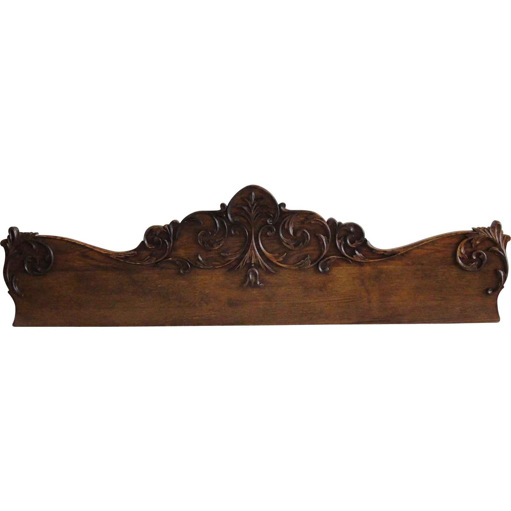 Decorative Furniture Crown Pediment With Hand Carving Sold