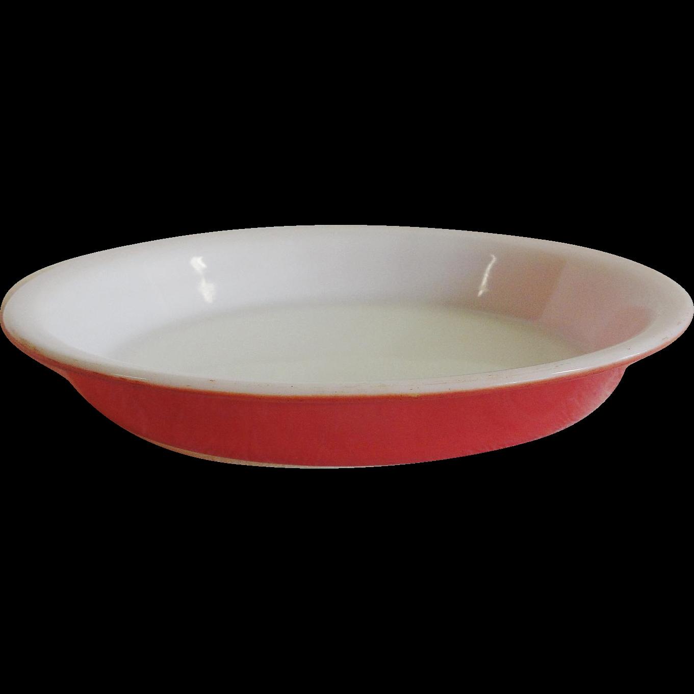 Vintage Pyrex Flamingo Pink 8 ½ Inch Pie Plate