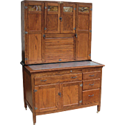 Vintage Napanee Oak Kitchen Cabinet