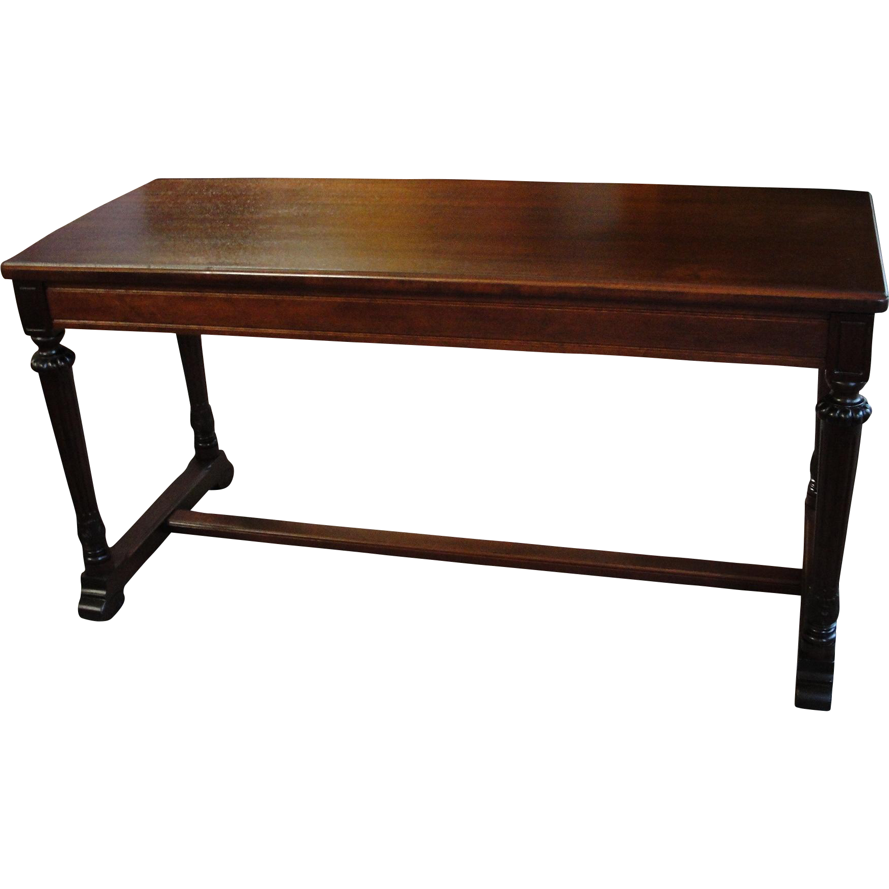 Vintage Mahogany Piano Or Organ Bench With Lift Lid From Breadandbutter On Ruby Lane