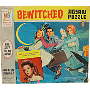 Vintage 1964 Milton Bradley Bewitched TV Show Jigsaw Puzzle
