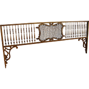 Victorian Oak Fretwork Gingerbread Spandrel