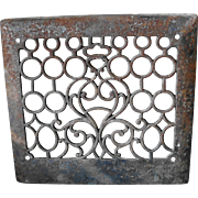 Cast Iron Heat Register Wall Grate