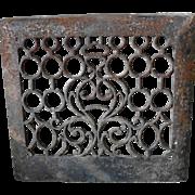 Cast Iron Heat Register Wall Grate