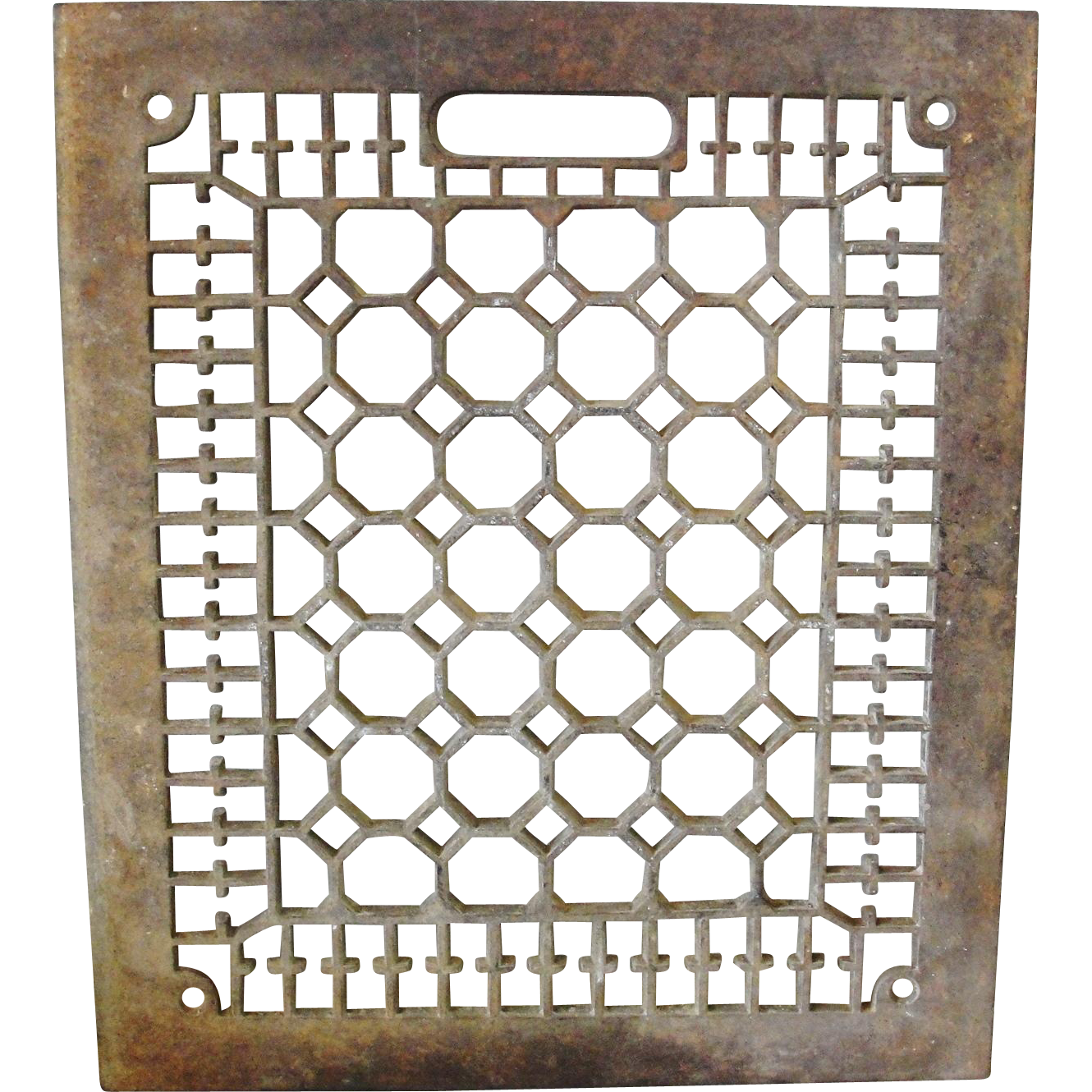 Ornate cast iron floor grate 10 x 12 from breadandbutter for 10 x 12 floor grate