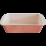 Vintage Pyrex Pink Desert Dawn Loaf Pan Baking Dish #213