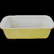 Vintage Desert Dawn Yellow Loaf Pan Baking Dish #213