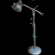 Vintage Mid Century Industrial Articulated Floor Lamp Bretford
