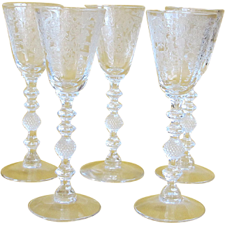 "Set of 5 Cambridge ""Diane"" Cordials - 5"""