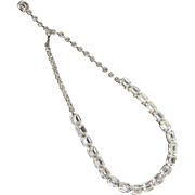 Gorgeous Weiss Rhinestone Choker Necklace