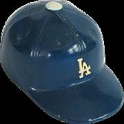 c. 1970s Los Angeles Dodgers Metal Baseball Cap Bottle Opener