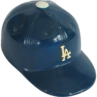 c. 1970s Los Angeles Dodgers Metal Baseball Cap Bottle Opener