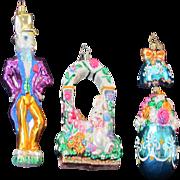 Radko Easter Ornaments - 3 - Rabbit, Egg