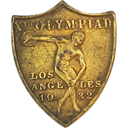 1932 Olympic Olympiad Los Angeles Pin