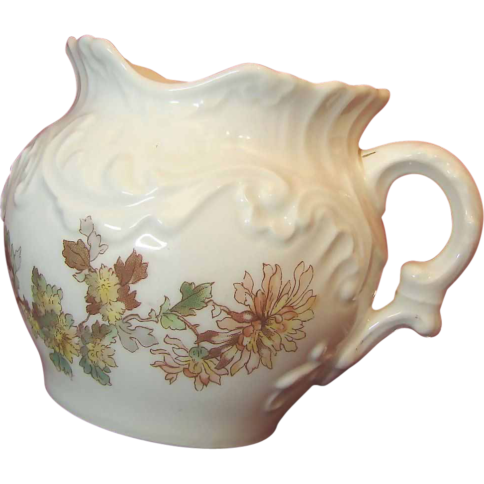 LIMOGES Floral Table or Tea WASTE POT Cache Tressemann & Vogt circa 1892