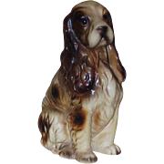 Cute Spaniel Figurine Looking For A Home