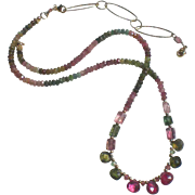 Dazzling Tourmaline Gemstone Necklace