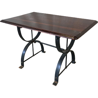 English Antique Pub Table Sofa Table Console Table