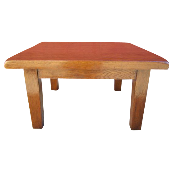 French Antique Rustic  Arts & Crafts  Mission Side Accent Table Antique Furniture