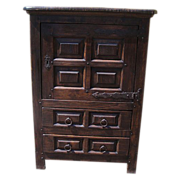 Antique Furniture Spanish Antique Cabinet Server Bar Cabinet