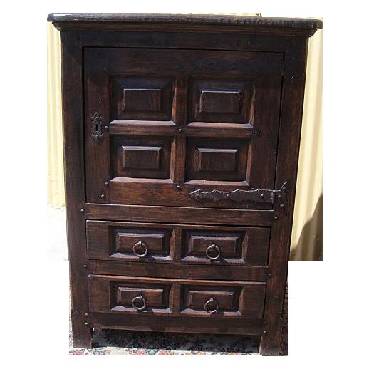 Antique Furniture Spanish Antique Cabinet Server Bar Cabinet