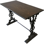 English Antique Pub Table