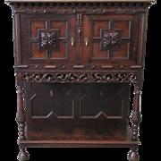 French Antique Server Sideboard Vestry Cabinet Antique Furniture