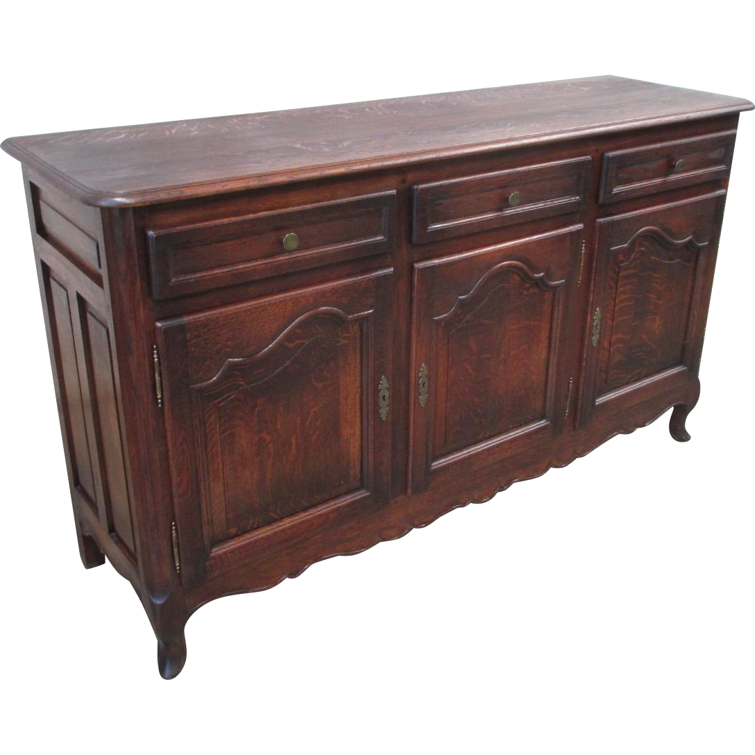 French Country Antique Sideboard Server Antique Server