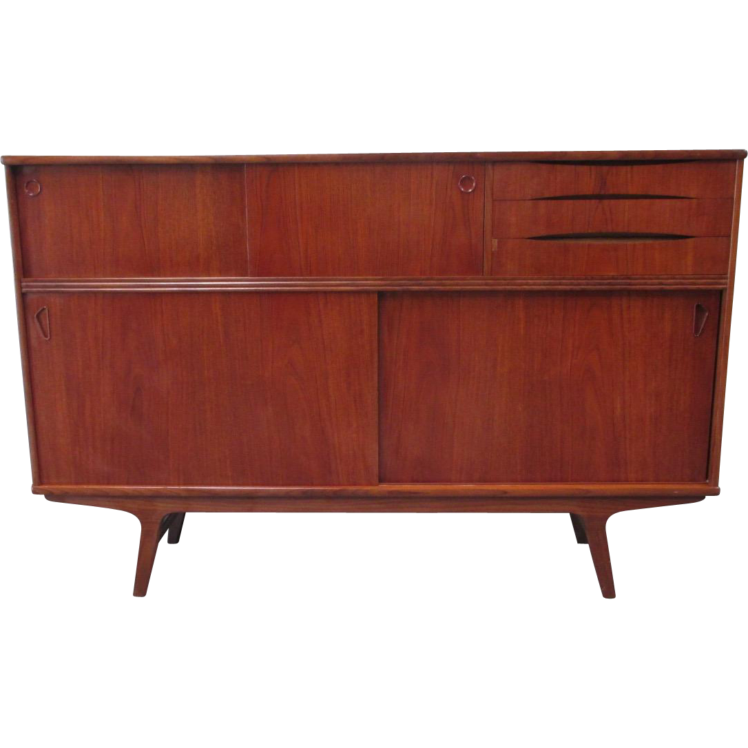 Danish Mid-Century Modern Sideboard Console