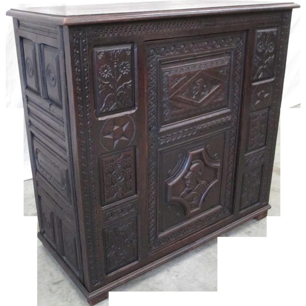 French Antique Sideboard Server Vestry Cupboard Antique Furniture
