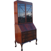 English Antique Chippendale Style Secretary's Desk
