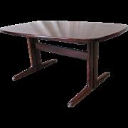 Mid-Century Modern Rosewood Dining Table Vintage Furniture