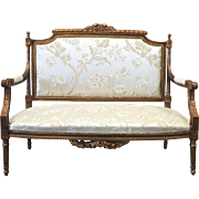 French Antique Settee Sofa Love Seat Antique Furniture