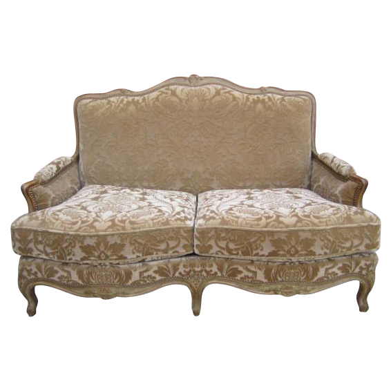 French Antique Sofa Loveseat Couch Settee Antique Furniture