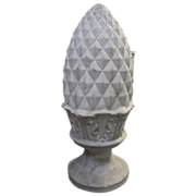 Antique Pineapple Shaped Obelisk Statuary Garden Architectural Decor