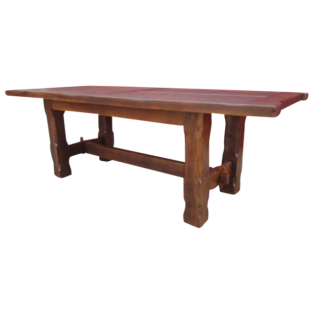French Antique Trestle Dining Table Antique Furniture