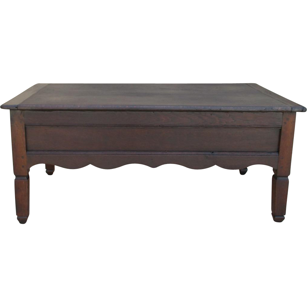 French Country Antique Coffee Table