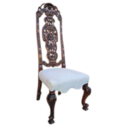 Italian Antique Throne Chair Antique Furniture