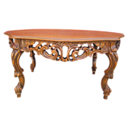 French Antique Walnut Coffee Table Antique Furniture