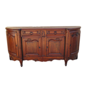 French Antique Walnut Sideboard Server Antique Furniture