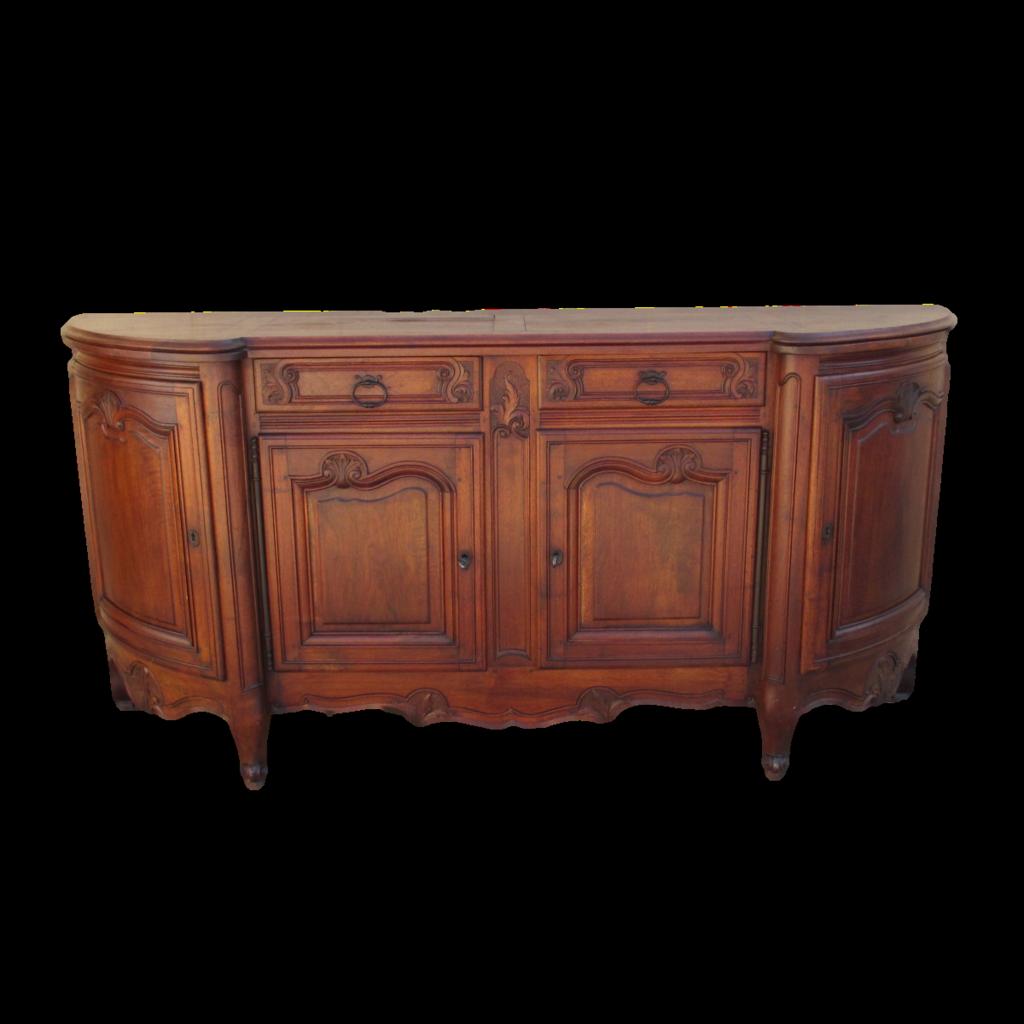 French Antique Walnut Sideboard Server Antique Furniture