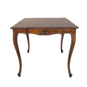 French Antique Walnut Dining Table  Game Table Antique Furniture