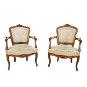 French Antique Louis XVI Arm Chairs Antique Furniture