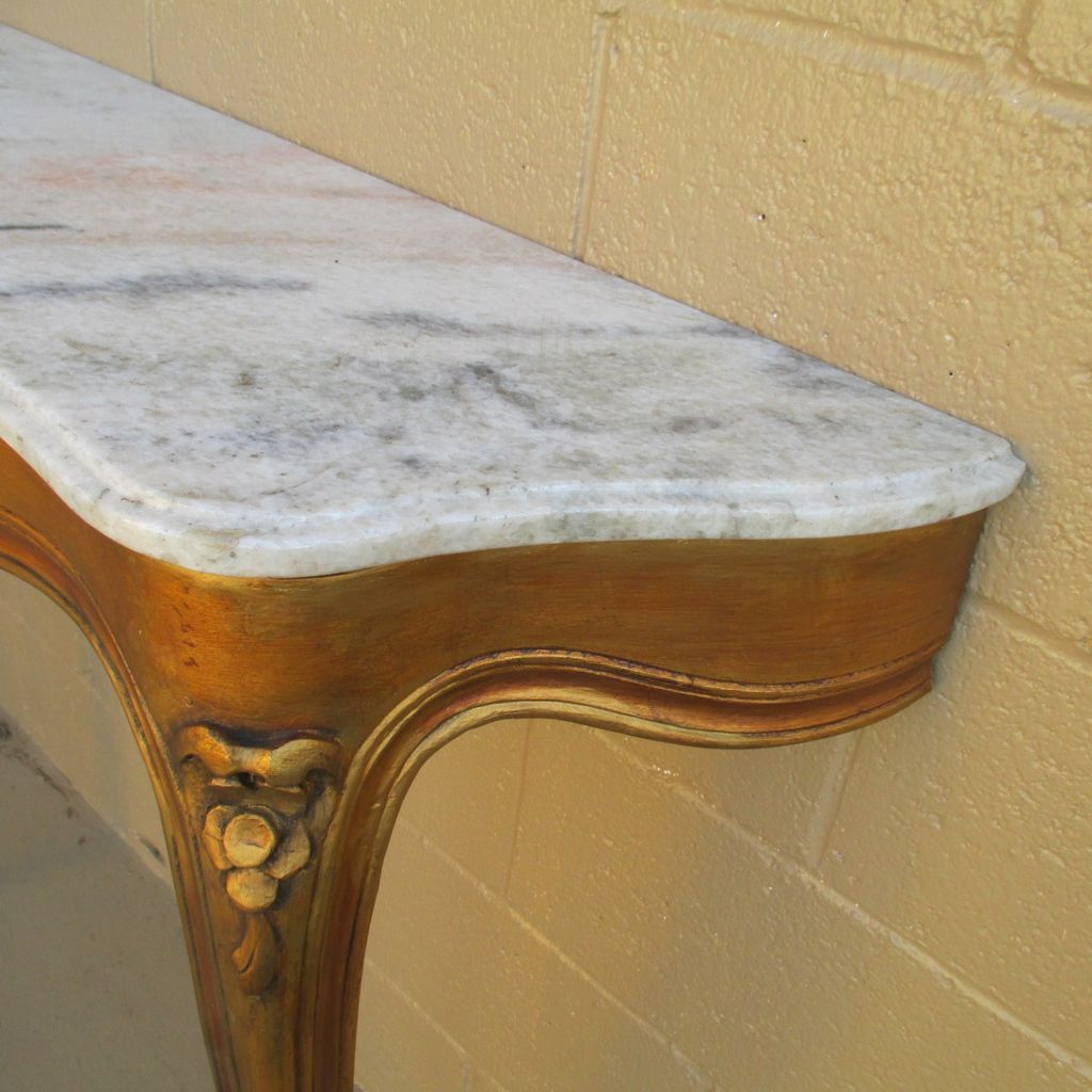 Marble Entry Table